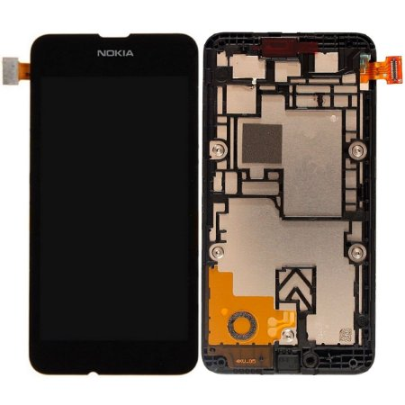 Tela Touch Display LCD Modulo Frontal Com Aro Nokia Lumia 530 N530