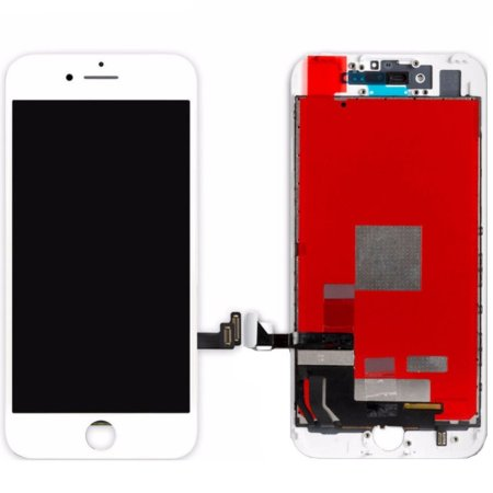 Tela Touch Display LCD Modulo Frontal Com Aro Apple Iphone 7 7g A1660 A1778 Branco