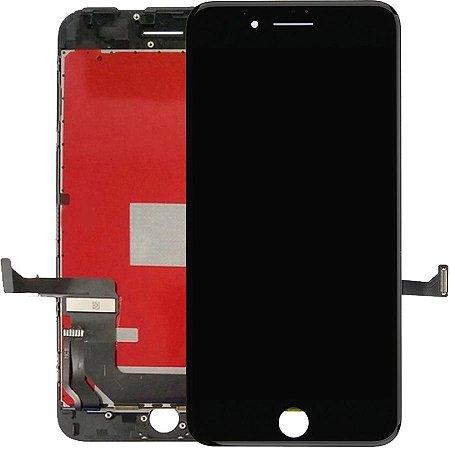 Tela Touch Display LCD Modulo Frontal Com Aro Apple Iphone 7 Plus 5.5 Preto