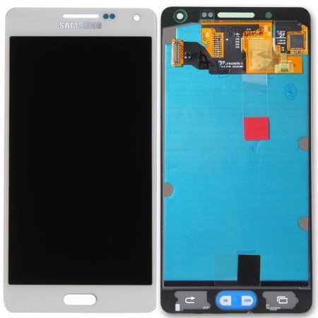 Tela Touch Display LCD Modulo Frontal Sem Aro Samsung Galaxy A5 4G DUOS A500 A500h Branco