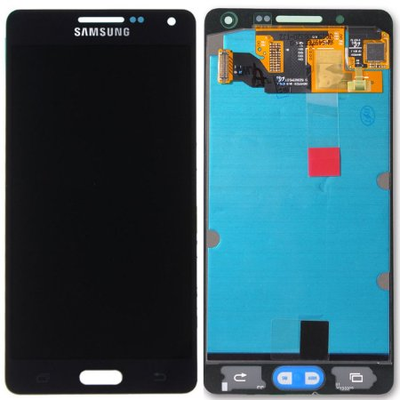 Tela Touch Display LCD Modulo Frontal Sem Aro Samsung Galaxy A5 4G DUOS A500 A500h Preto