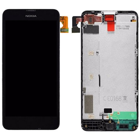 Tela Touch Display Lcd Modulo Frontal Com Aro  Nokia Lumia 630 N630