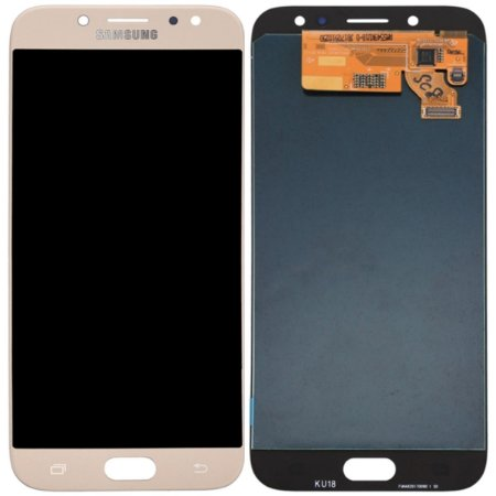 Tela Touch Display Lcd Modulo Frontal Samsung Galaxy J7 Pro Sm-j730g/ds J730 Dourado