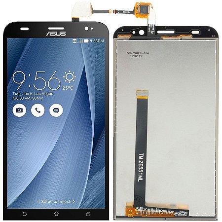 Tela Touch Display Lcd Modulo Frontal Sem Aro Asus Zenfone 2 Dual Sim Ze551 Ze551ml