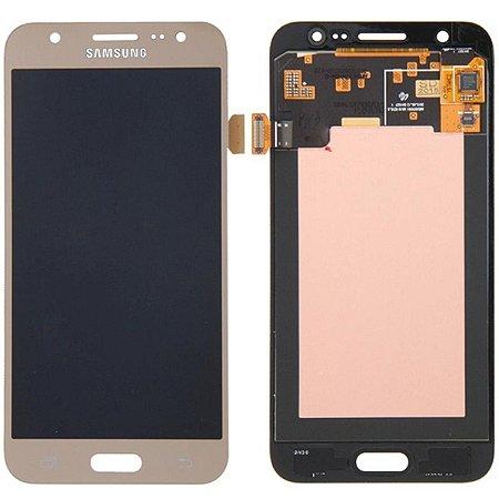 Tela Touch Display Lcd Modulo Frontal Sem Aro Samsung Galaxy J5 4g Duos J500 Ajuste de Brilho Dourado