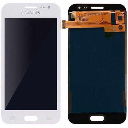 Tela Touch Display Lcd Modulo Frontal Sem Aro Samsung Galaxy J2 4g Duos J200 Paralelo Branco