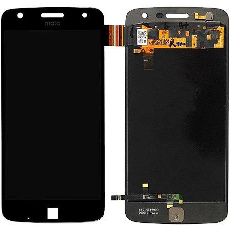 Tela Touch Display Lcd Modulo Frontal Sem Aro Motorola Moto Z Play Xt1635 Preto
