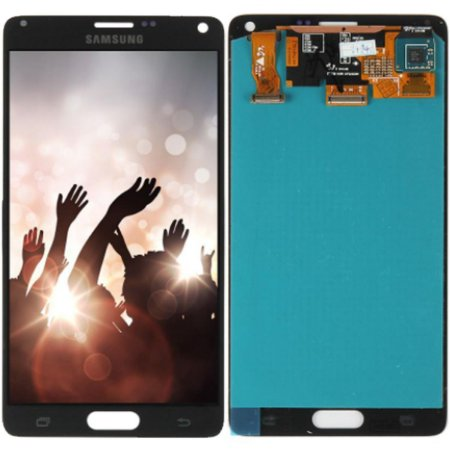 Tela Touch Display Lcd Modulo Frontal Sem Aro Samsung Galaxy Note 4 Sm-n910c N910 Preto