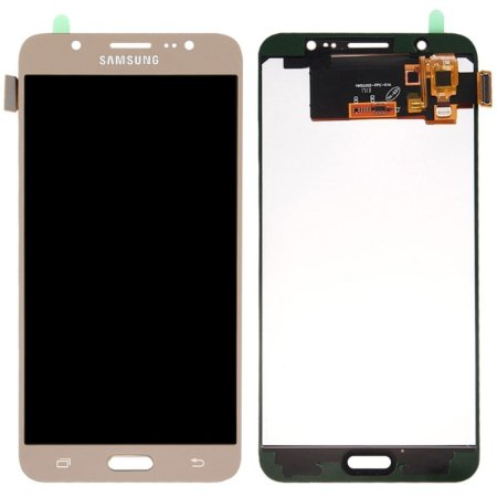 Tela Touch Display Lcd Modulo Frontal Sem Aro Samsung Galaxy J7 Metal Duos J710 Sem Ajuste de Brilho Dourado