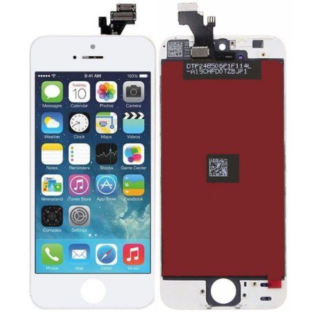 Tela Touch Display LCD Modulo Frontal Com Aro Apple iPhone 5 Branco