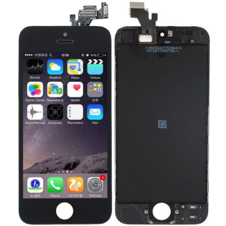 Tela Touch Display LCD Modulo Frontal Com Aro Apple iPhone 5 Preto