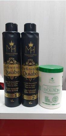 Definitiva de Quaibo (2 passos) + Botox Organico 1k