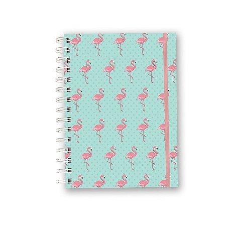 Caderno A5 - Flamingo