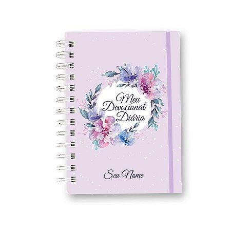 Caderno Meu Devocional Diário Floral