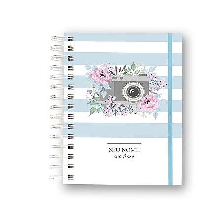 Planner Criativo Não Datado - Click Floral