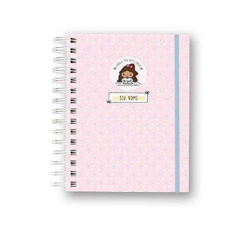 Caderno Funcional - Coleção Louca por Papelaria - Rosa
