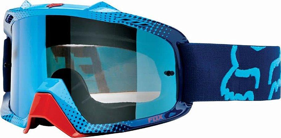 Óculos Fox MX Air SPC Spark 360 Azul