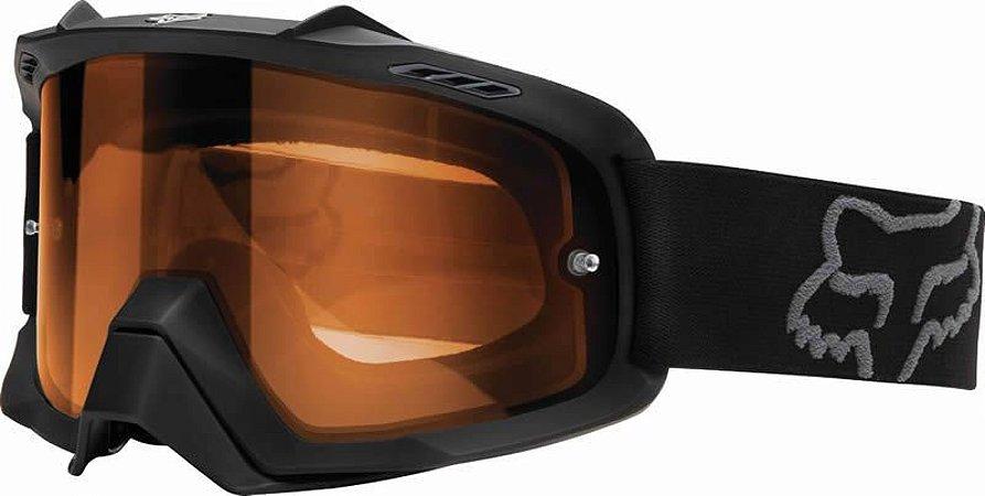 Óculos Fox MX Air SPC Enduro Preto e Laranja