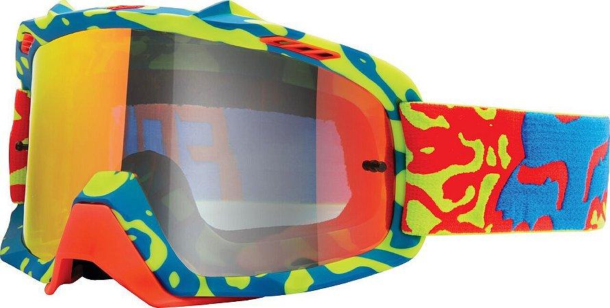 Óculos Fox MX Cauz Youth Vermelho