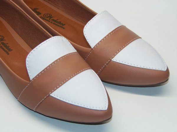 Sapatilha Slipper Com Branco