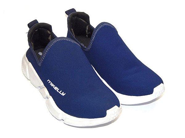 Tênis Mikelly Azul sem Cadarço