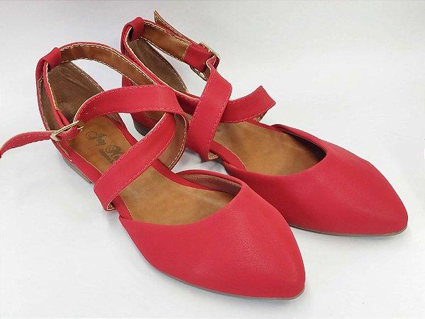 Sapatilha Vermelha Bailarina