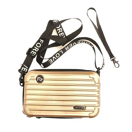 Mini Bag Influencer Dourada