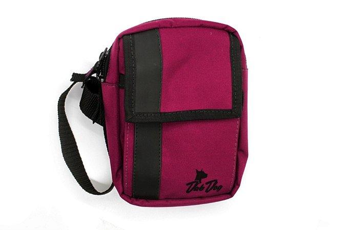 Shoulder Bag Slim Dabdog - Vinho