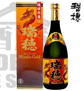 Awamori MIZUHO GOLD 3 YEARS 30% 720ml