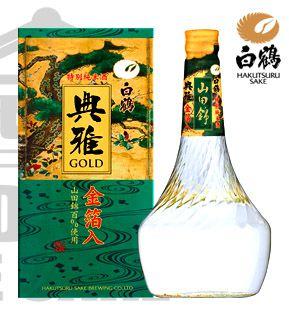Sake Hakutsuru TENGA Tokubetsu Junmai GOLD 720ml