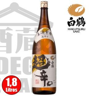Sake HAKUTSURU Extra Dry 1800ml