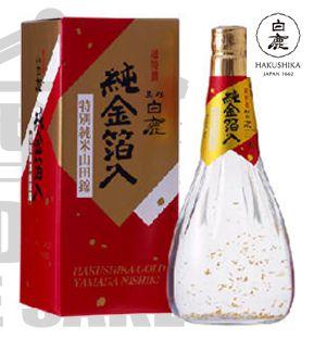 Sake Hakushika GOLD Tokubetsu 720ml