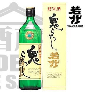 Sake Wakatake ONI KOROSHI Junmai Genshu 720ml