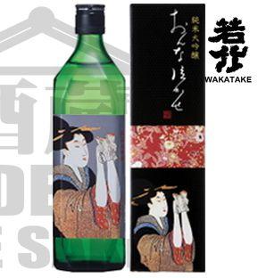 Sake Wakatake ONNA NAKASE Junnai Daiguinjo 720ml