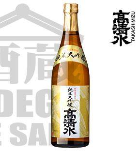 Sake TAKASHIMIZU Junmai Daiguinjo 720ml