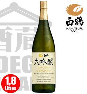Sake HAKUTSURU Daiguinjo 1800ml