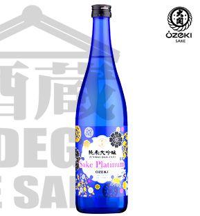 Sake OZEKI PLATINUM Junmai Daiguinjo 720ml Made in EUA