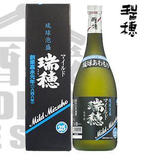Awamori MIZUHO MILD 720ml