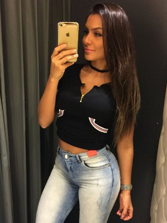 TOP CROPPED TIRAS ESPORTIVAS BOLSOS JR GIRL