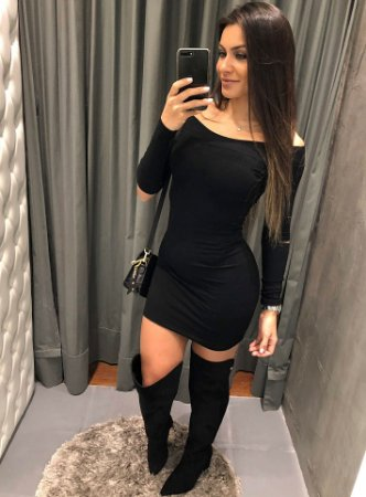 VESTIDO CANELADO JR GIRL