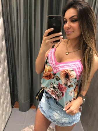 BLUSA DE ALÇA LP