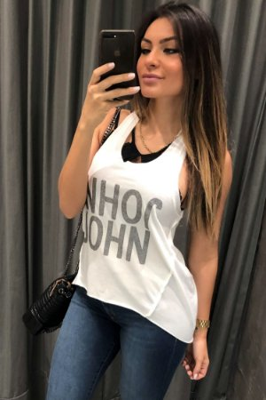 BLUSA SHINE WHITE JJ