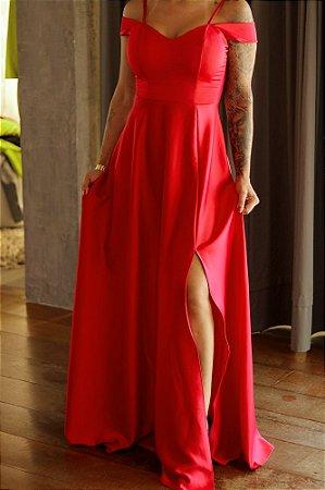 Vestido Longo Queen