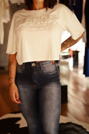 T-shirt Cropped LP