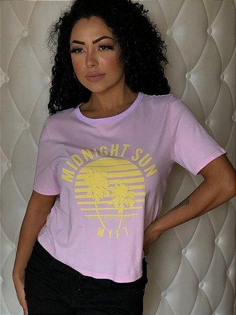 T-Shirt Descolada Curta MyFT