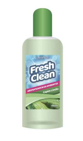 FRESH CLEAN AROMATIZADOR CONCENTRADO CAPIM LIMÃO 140ML