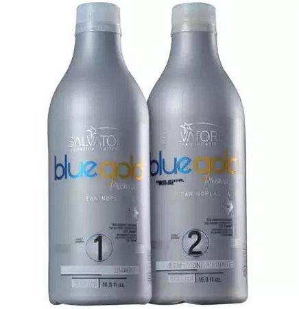Salvatore Blue Gold Premium - Kit Escova Progressiva 500 ml