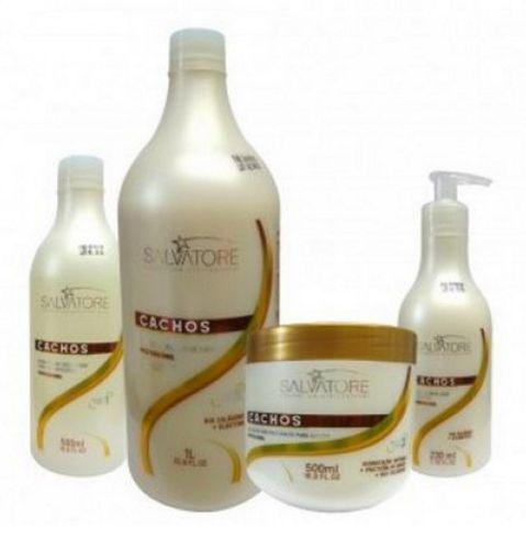Salvatore Kit Cachos Perfeitos (4 produtos)