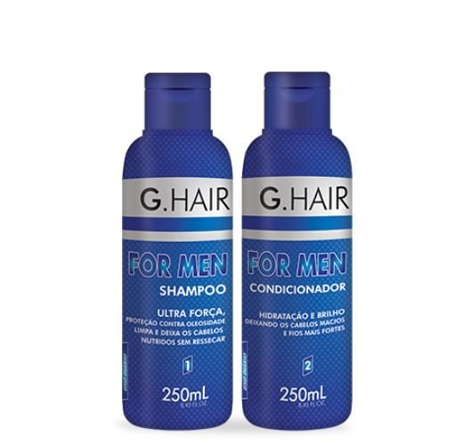 Kit G.Hai For Men (Shampoo 250ml + Condicionador 250ml)