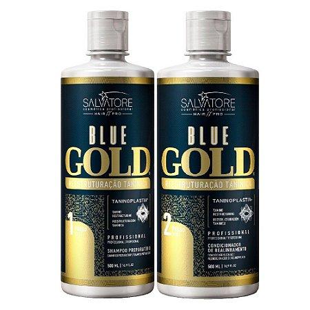 Salvatore Escova Progressiva Blue Gold (2 x 500 ml)